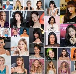 The Most Beautiful Female Singers in the World 2020-2