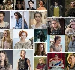 The Best Actresses of British Tv Series 2019-2